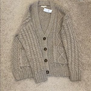 Pacsun cable button down cardigan one size